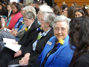 Sisters attend Blue Ribbon celebration at La Reina.