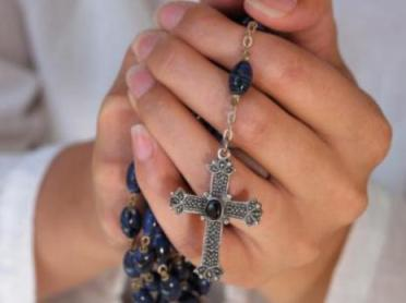 Rosary-hands