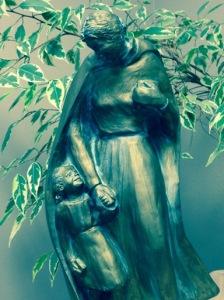 Statue of Sister Maria Aloysia